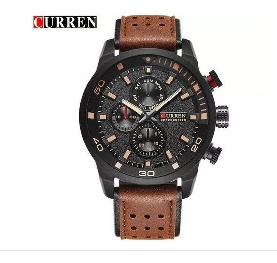 Relógio Curren 8250 Masculino Esportivo Luxo Original
