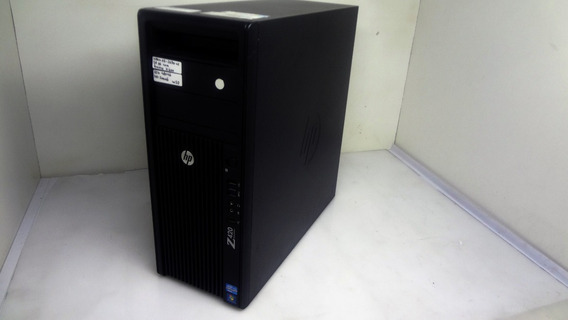 Workstation Hp Z420 Xeon E5-1650 16gb Ddr3 Ssd 480gb Nf