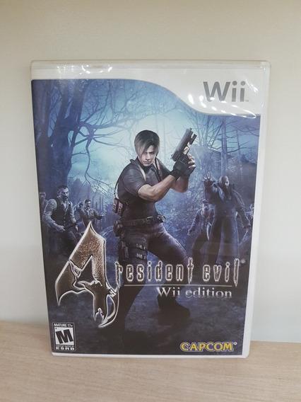 Resident Evil 4 Wii Edition / Wii U Game Impecável - Usado