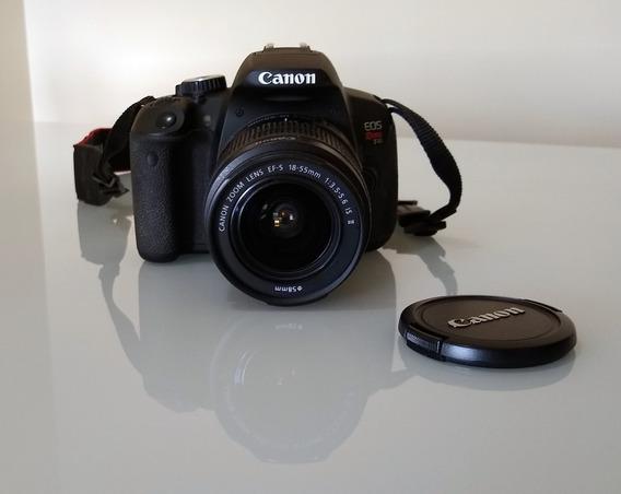 Câmera Canon T4i Com Lente 18-55mm
