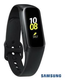Relógio Samsung Galaxy Fit Preto Original Sm-r370