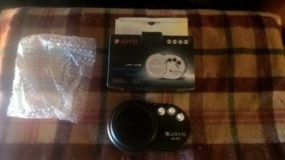 Amplificador Portatil Ja-02 A 9v Como Nuevo 3 Watts Real