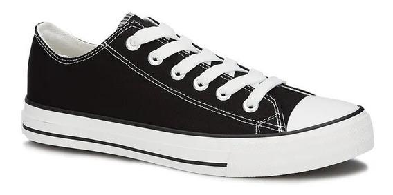 Tenis De Sneaker Negro 2559605 E-20