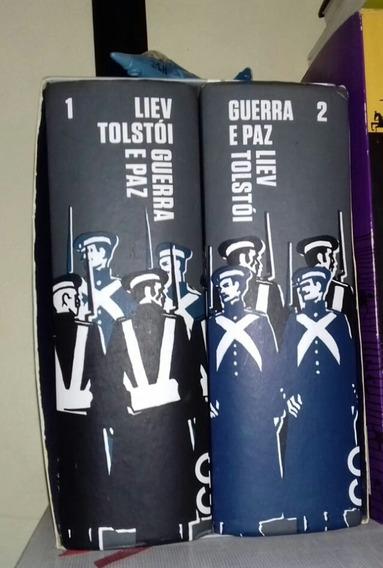 Box Livro Guerra E Paz - Liev Tolstói - Cosac Naify