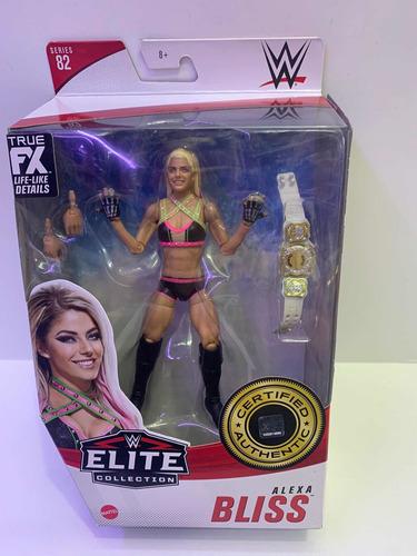 Imagen 1 de 2 de Figura Wwe Alexa Bliss Elite Collection