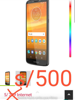 Celular Motorola E5 Plus Seminuevo