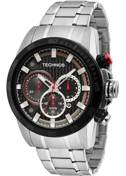 Relógio Technos Masculino Cronografo Js25ap/1r Aço Oferta