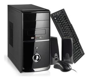 Computador Brazilpc Intel Core I3 4gb 500gb Teclado Mouse