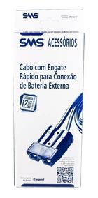 Cabo Sms De Engate Rápido Para Bateria Externa Em Nobreaks