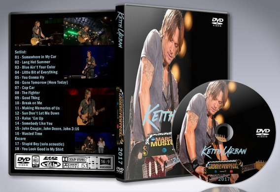 Dvd Keith Urban - March Madness Festival 2017