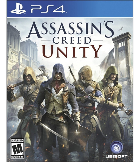 Assassins Creed Unity Limited Edition Ps4 Mídia Física Novo