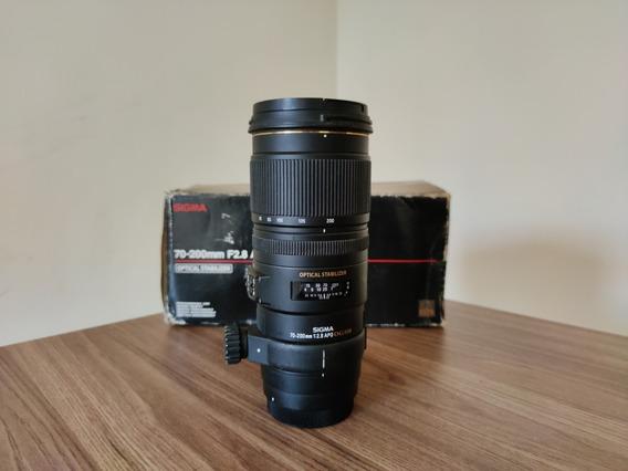 Lente 70-200mm F2.8 - Sigma (usada)