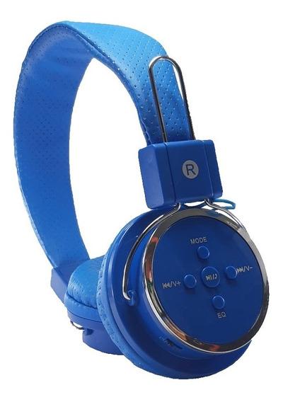 Fone Bluetooth Sem Fio Cartão De Memória Sd+p2+cabo Usb Promoção