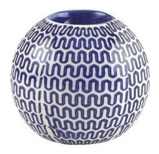 Candelabro Esfera Azul 53106 Okko