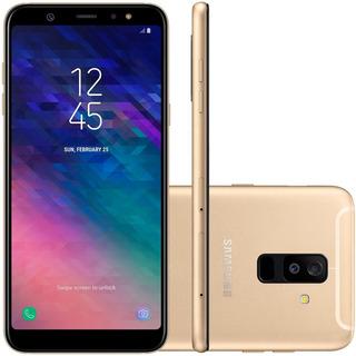Celular Samsung A6 Plus 6 Polegadas 64gb Original - Vitrine