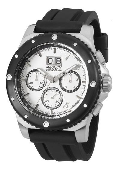 Relógio Masculino Cronografo Magnum - Ma33746q Frete Gratis