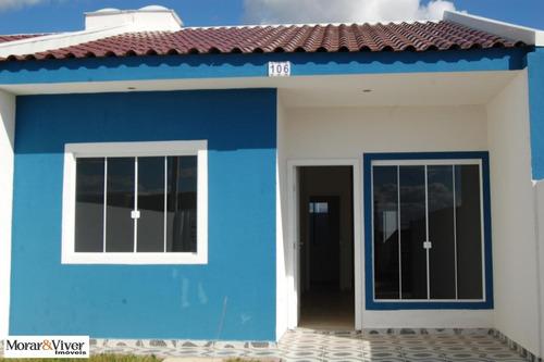 Casa Para Venda Em Fazenda Rio Grande, Nações, 3 Dormitórios, 1 Banheiro, 2 Vagas - Faz3880_1-1296460
