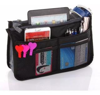 Organizador De Cartera Bolso Neceser Bag X Mayor X 10 Unidadades, Mania-electronic