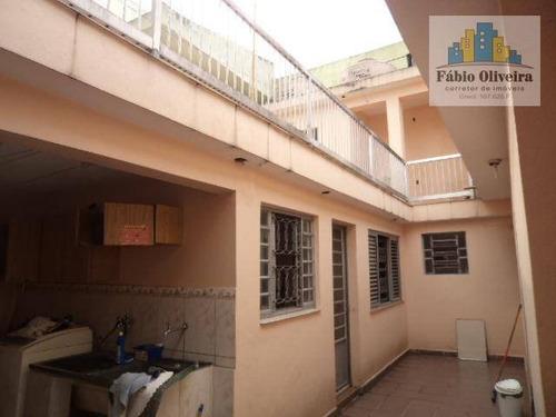 Casa Á Venda Com 5 Dormitórios À Venda, 285 M² Por R$ 815.000 - Jardim Das Maravilhas - Santo André/sp - Ca0097