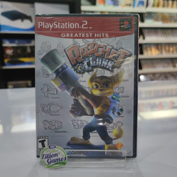 Ratchet Clank Ps2 Original Novo Lacrado