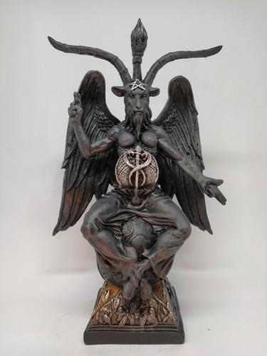 Baphomet Estatua Em Resina 39 Cm