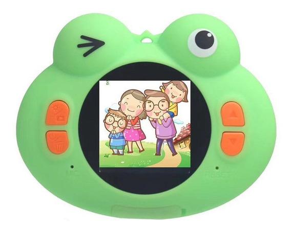 H132 Frog Criança Câmera Hd 1080 P Crianças Digital Foto Câm