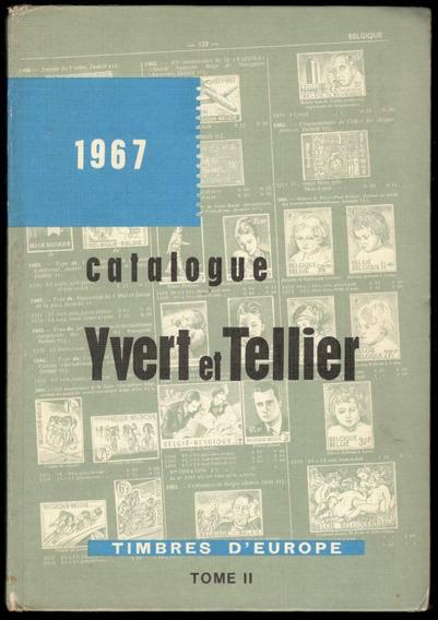 Yvert & Tellier - Catálogo 1967 Tomo 2 (europa)