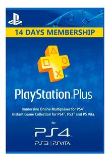 Play Plus 14 Días Ps4 + 14 Psnow Juega Online C/tu Cuenta!
