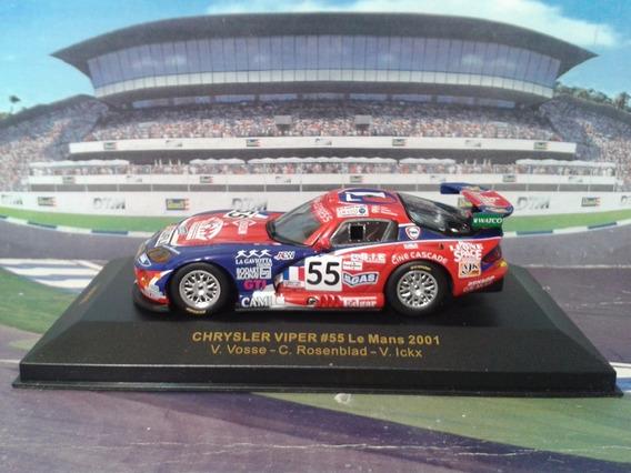 Ixo 1:43 Chrysler Viper #55 La Mans 2001