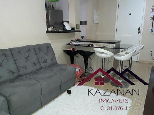 Imagem 1 de 10 de Apartamento, Itararé, S.v. Piscina;churrasqueira;salão Festa - 568