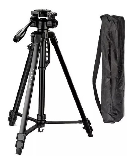 Tripé Camera Digital Profissional Com Nível 1.6 Mt - Stc36