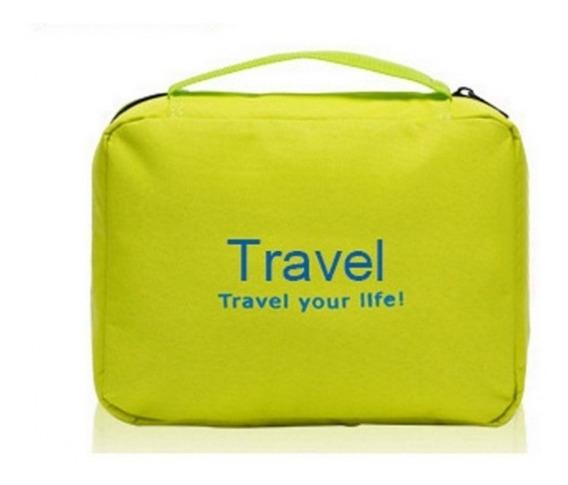 Organizador Neceser Viaje Extensible Porta Cosmeticos Travel