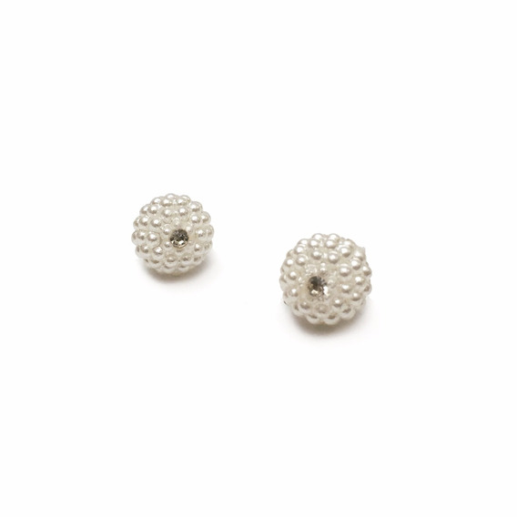 Aros Micro Perlas Plata 925