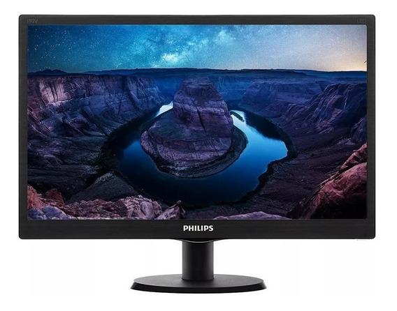 Monitor Led 19 Pulgadas Philips Hd 193v5lhsb2/55 Hdmi Noaweb