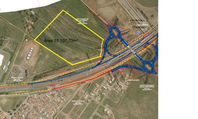 57.100 M2 De Área Industrial A Margens Da Rodovia Sp 332