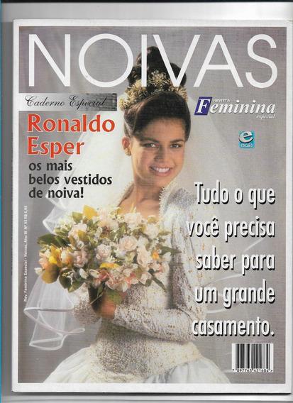 Noivas Revista Vestidos Ronaldo Esper Feminina Especial Ed 3