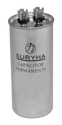 Capacitor Simples Permanente Suryha 7uf 380v - 50/60hz