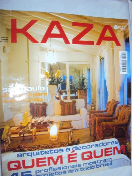 Revista Kaza Ano 5 - Nº 56 (sebo Amigo)