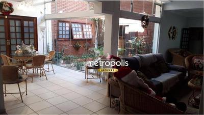 Sobrado Com 4 Dormitórios À Venda, 345 M² Por R$ 2.120.000 - Nova Gerty - São Caetano Do Sul/sp - So0501