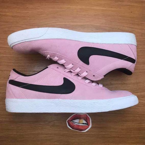Tênis Nike Bruin Pink Hotel + Adi-ease
