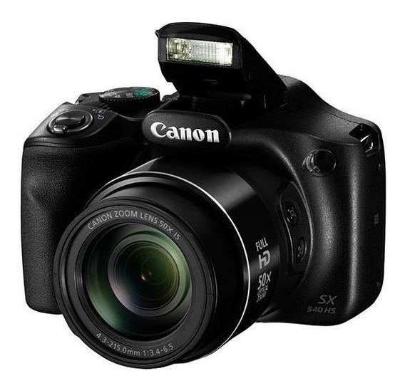 Câmera Canon Powershot Sx540 Hs Wi Fi De 20.3mp/video Full
