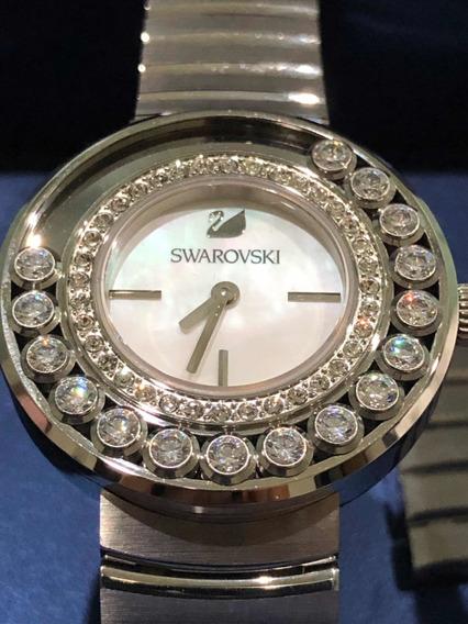 Relógio Swarovski 1160307 Lovely Original - Cristais Prata