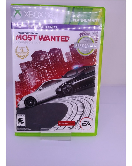Need For Speed: Most Wanted (seminovo) - Xbox 360