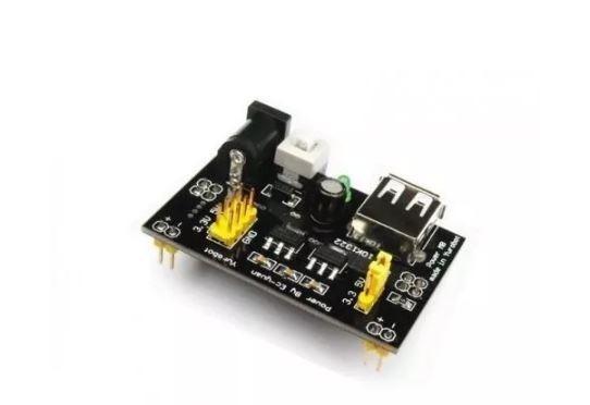 Fonte Ajustavel Protoboard 3.3v/5v Para Arduino
