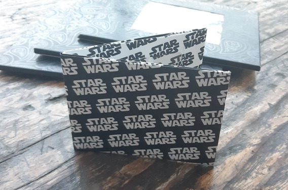 Billetera Tyvek Super Resistente Eco Wallet Modelo Star Wars