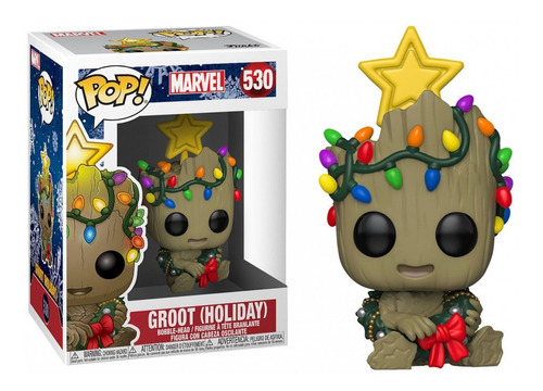 Funko Pop! Marvel #530 Holiday Groot Nortoys