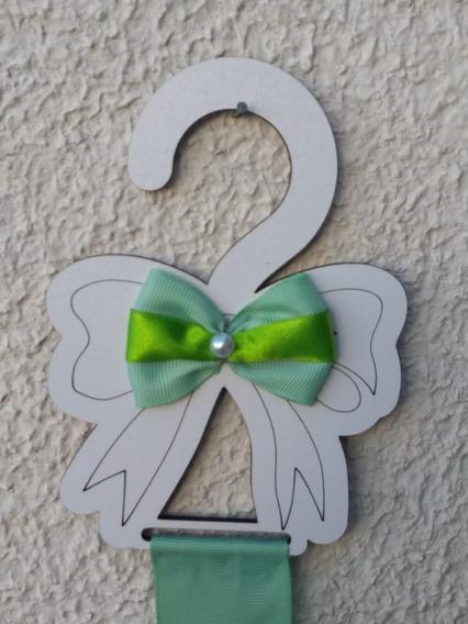 Cabide Porta -laços Verde -bebe/ Acessórios De Cabelo/menina