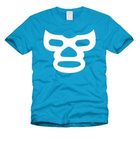 Playeras Luchadores Lucha Libre El Santo Blue Demon Mistico