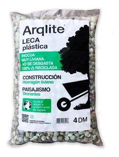 Leca Plastica X 50dm - Simil Piedra Partida / Pometina /leca