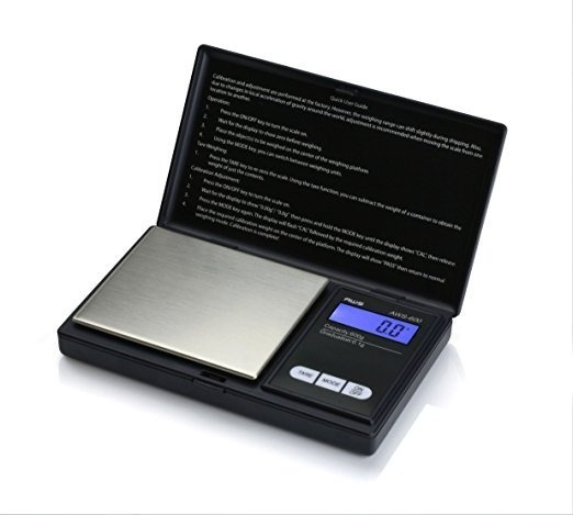 American Weigh Scales Aws-600-blk Escala Personal Digital Nu